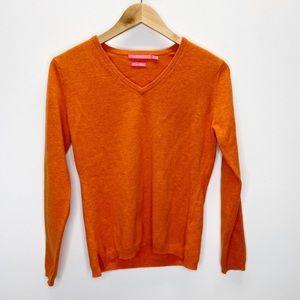 Peter Millar Luxe 100% Cashmere Sweater Sz S